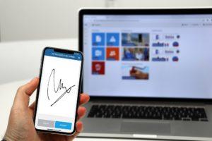 Firma digital en software de seguridad y salud